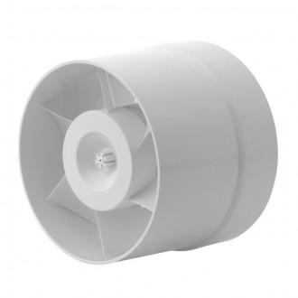 KANLUX 70903 | Kanlux trubkový ventilátor Ø150 200m3/h kruhový tepelná poistka IP24 biela