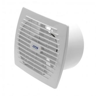 KANLUX 70920 | Kanlux trubkový ventilátor Ø150 200m3/h obdĺžnik prepínač na ťah bez debnenia, tepelná poistka IP24 UV biela