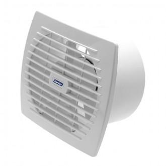 KANLUX 70921 | Kanlux trubkový ventilátor Ø150 200m3/h obdĺžnik bez debnenia, tepelná poistka IP24 UV biela