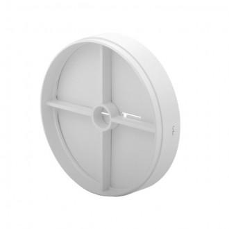 KANLUX 70961 | Kanlux spätná klapka Ø100 pre potrubný ventilátor kruhový UV biela