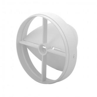 KANLUX 70962 | Kanlux spätná klapka Ø120 pre potrubný ventilátor kruhový UV biela