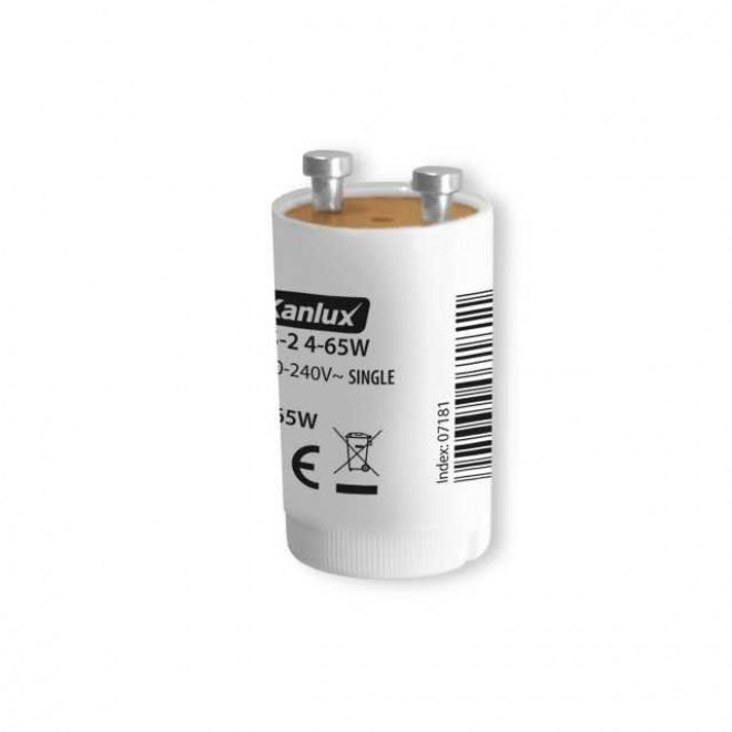 KANLUX 7181 | Kanlux štartér žiarivky 4-65W biela