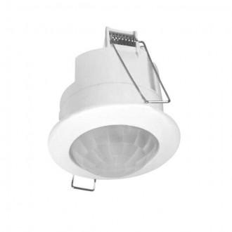 KANLUX 7691 | Kanlux pohybový senzor PIR 360° zabudovateľné kruhový biela