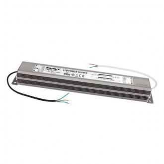 KANLUX 7800 | Kanlux LED napájací zdroj 12V DC 0-30W 2,5A obdĺžnik IP66 chróm