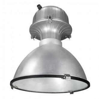 KANLUX 7864 | EuroIP54-MTH Kanlux metal halogén pre osvetlenie haly svietidlo 1x E40 IP54 sivé
