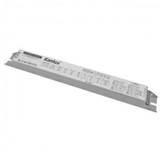KANLUX 8240 | Kanlux elektronická stabilizačná jednotka 3x14W / 4x14W T5/T8 elektronický predradník obdĺžnik biela