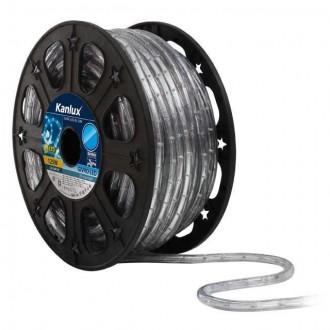 KANLUX 8631 | Givro Kanlux svetelná hadica modrá svetelný kábel - 50 m 25x LED IP44 modrá