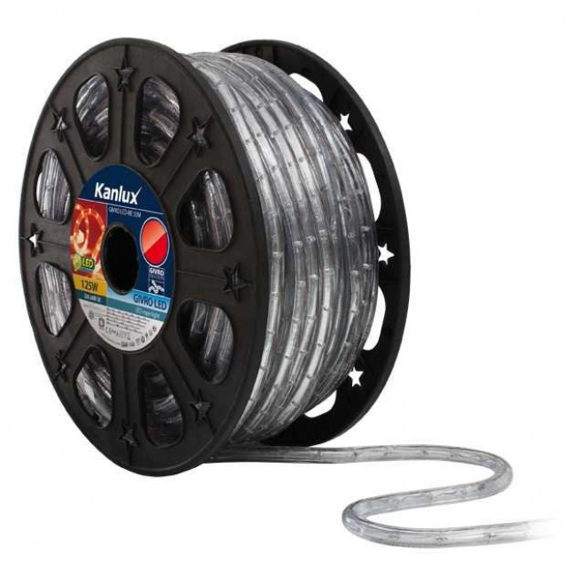 KANLUX 8632 | Givro Kanlux svetelná hadica červená svetelný kábel - 50 m 25x LED IP44 červená