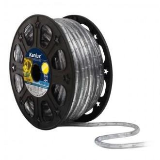 KANLUX 8634 | Givro Kanlux svetelná hadica žltá svetelný kábel - 50 m 25x LED IP44 žltá