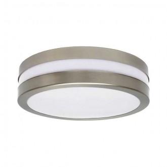 KANLUX 8980 | Jurba Kanlux stenové, stropné svietidlo kruhový 2x E27 IP44 IK10 UV chrom, matné, biela