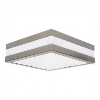 KANLUX 8981 | Jurba Kanlux stenové, stropné svietidlo štvorec 2x E27 IP44 IK10 UV chrom, matné, biela