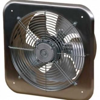 KANLUX C300 | Kanlux priemyselný ventilátor Ø320 1520m3/h štvorec IP24 UV nerez