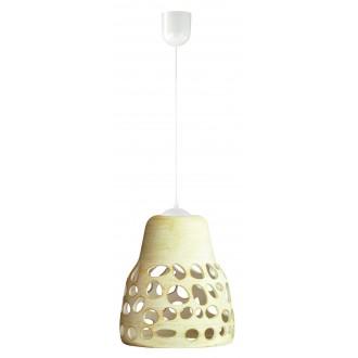 LAMPEX 002/1 KRE | Wiszaca Lampex visiace svietidlo 1x E27 krémové