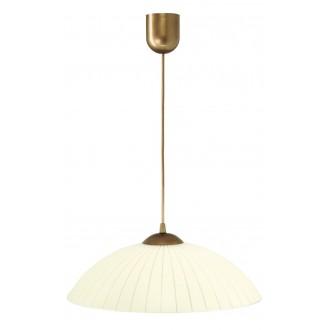 LAMPEX 013/B | Lampex-Pendant Lampex visiace svietidlo 1x E27 patina, krémové
