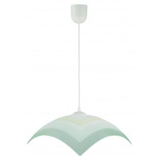 LAMPEX 013/I | Lampex-Pendant Lampex visiace svietidlo 1x E27 biela, sivé