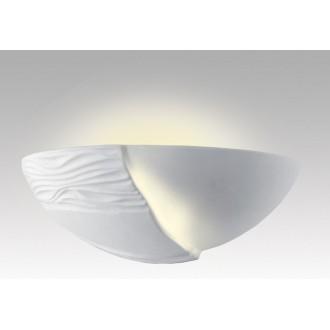 LAMPEX 014/B | Ceramic Lampex stenové svietidlo 1x E27 biela