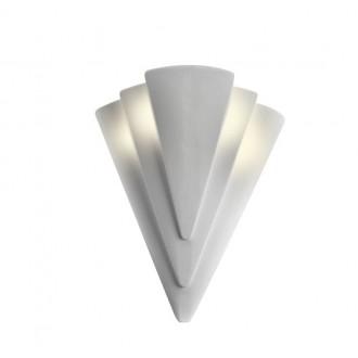 LAMPEX 014/H | Ceramic Lampex stenové svietidlo 1x E27 biela