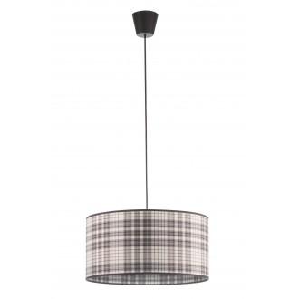 LAMPEX 019/A | Cyntia-LA Lampex visiace svietidlo 1x E27 čierna, biela, hnedá