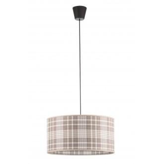 LAMPEX 019/B | Cyntia-LA Lampex visiace svietidlo 1x E27 čierna, biela, hnedá