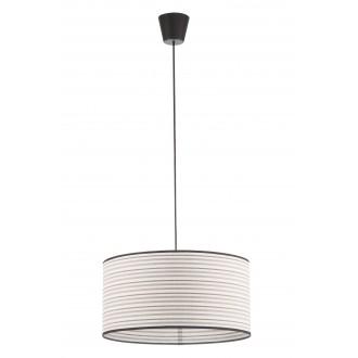 LAMPEX 019/D | Cyntia-LA Lampex visiace svietidlo 1x E27 čierna, biela, hnedá