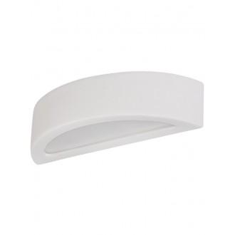 LAMPEX 021/K40 | Atena Lampex stenové svietidlo 1x E27 biela