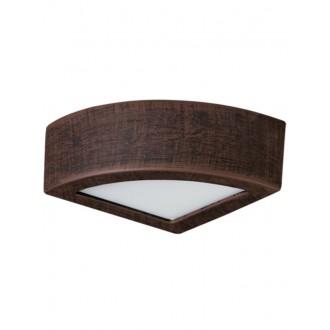 LAMPEX 022/K20 | Atena Lampex stenové svietidlo 1x E27 -, biela