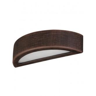 LAMPEX 022/K40 | Atena Lampex stenové svietidlo 1x E27 -, biela