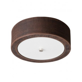 LAMPEX 022/P26 | Atena Lampex stropné svietidlo 1x E27 -, biela, chróm