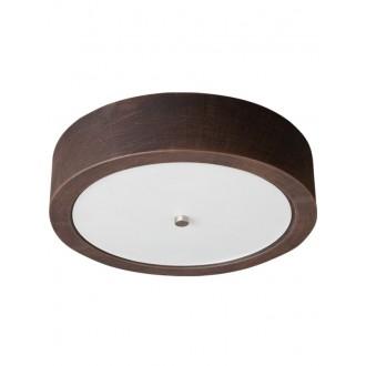 LAMPEX 022/P36 | Atena Lampex stropné svietidlo 2x E27 -, biela, chróm