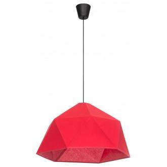 LAMPEX 024/1 | Rasia Lampex visiace svietidlo 1x E27 čierna, červená