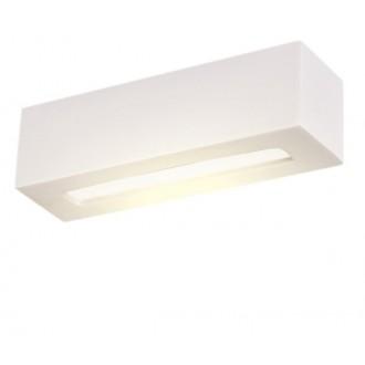LAMPEX 026/32B | Adera Lampex stenové svietidlo 1x E27 biela