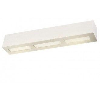 LAMPEX 026/54B | Adera Lampex stenové svietidlo 2x E27 biela