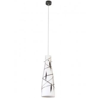 LAMPEX 043/1 DEK | Tubo-LA Lampex visiace svietidlo 1x E27 biela, čierna