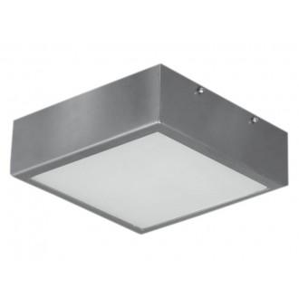 LAMPEX 044/1W | Ventana Lampex stropné svietidlo 1x E27 wenge, biela