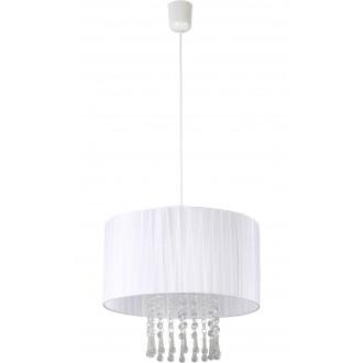 LAMPEX 153/1 BIA | Wenecja-LA Lampex visiace svietidlo 1x E27 biela, priesvitné
