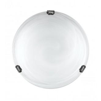 LAMPEX 211/P1 ST BIA CHR | Duna-LA Lampex stropné svietidlo 1x E27 chróm, alabaster