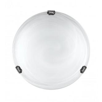 LAMPEX 211/P1 ST BIA PAT | Duna-LA Lampex stropné svietidlo 1x E27 patina, alabaster