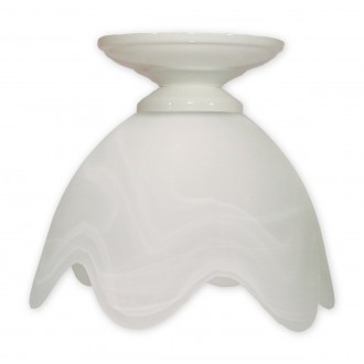 LEMIR 001/W1 K_5 | Fuksia Lemir stropné svietidlo 1x E27 biela, alabaster