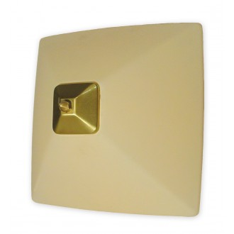 LEMIR 005/K2 K_8 | Krzyzak Lemir stenové, stropné svietidlo 1x E27 bronzová, krémové