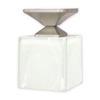 LEMIR O1061/W1 SAT | KostkaSAT Lemir stropné svietidlo 1x E27 chrom, matné, saténový