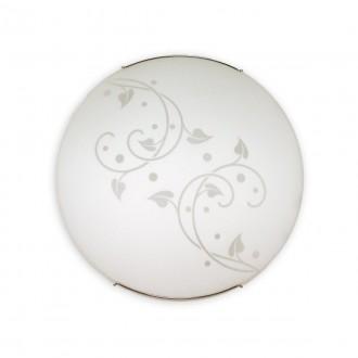 LEMIR O1446 | ArnoL Lemir stenové, stropné svietidlo 1x E27 chróm, biela
