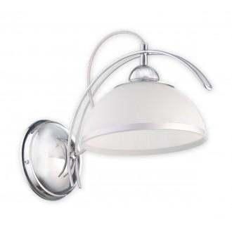 LEMIR O1480 CH | FlexL Lemir stenové svietidlo 1x E27 chróm, biela