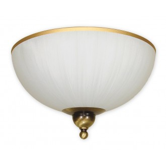 LEMIR O1481 PAT | FlexL Lemir stropné svietidlo 2x E27 bronzová, biela