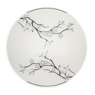 LEMIR O1547 | Deba Lemir stenové, stropné svietidlo 2x E27 chróm, biela