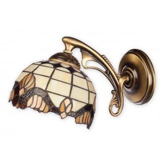 LEMIR O2060 K1 PAT | Vitrus Lemir rameno stenové svietidlo 1x E27 bronzová, viacferebné