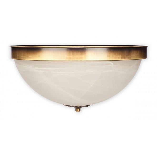LEMIR O2121 P2 PAT   Arkadia Lemir stropné svietidlo 2x E27 bronzová, biela