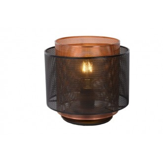 LUCIDE 02504/01/30 | Orrin Lucide stolové svietidlo 160cm 1x E27 čierna, hnedá