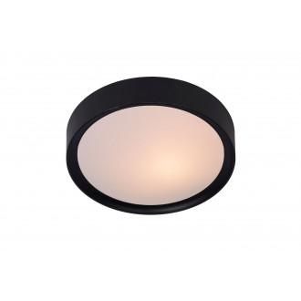 LUCIDE 08109/01/30 | LexL Lucide stropné svietidlo 1x E27 čierna