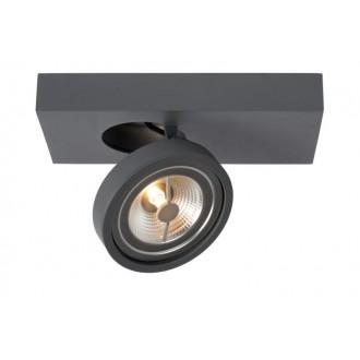 LUCIDE 09920/10/36 | Nenad Lucide spot svietidlo otočné prvky 1x LED 385lm 2700K sivé