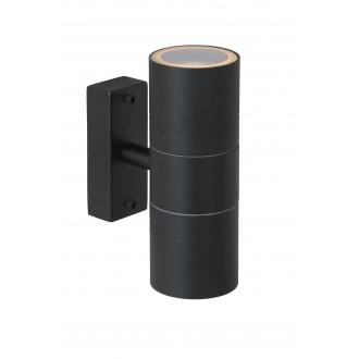 LUCIDE 14867/11/30 | Arne Lucide rameno stenové svietidlo 2x GU10 350lm 2700K IP44 čierna